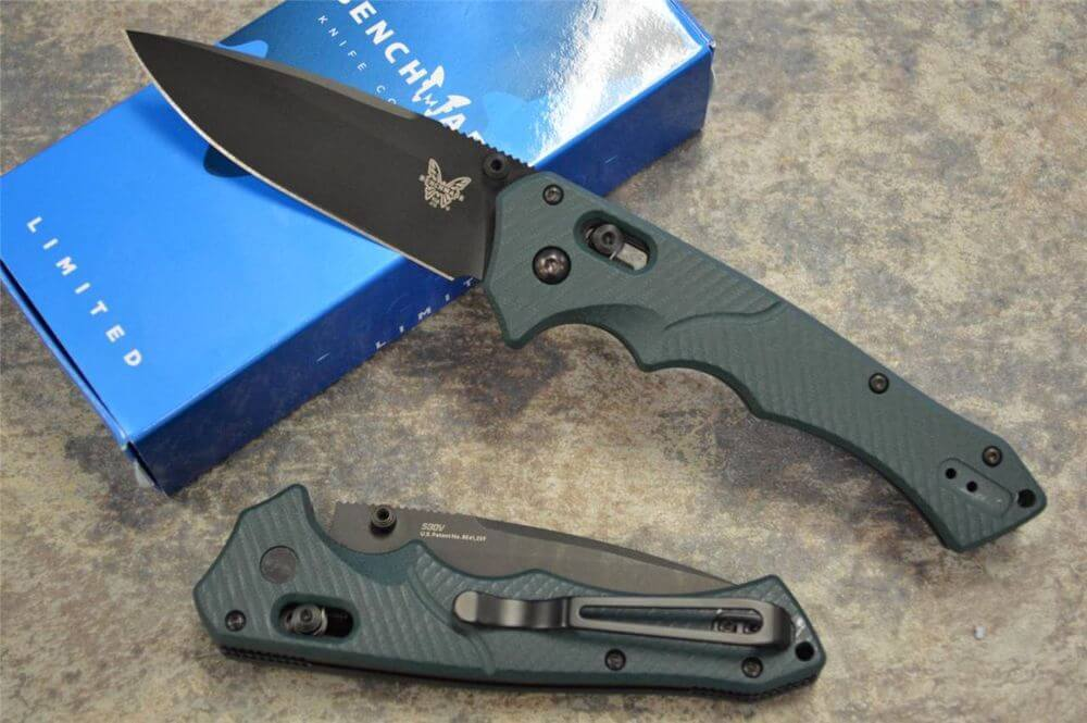 Нож benchmade mini rukus 615bk ножи охотничьи шкуросъёмные фирмы бенчмейд