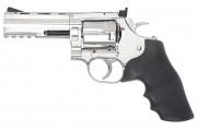 Пневматический револьвер ASG Dan Wesson 715-4 silver пулевой