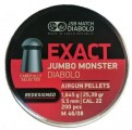 Пули JSB Exact Jumbo Monster Redesigned 1.645г, кал. 5.5 мм (5.52 мм) (200шт)
