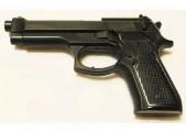 Пистолет тренировочный резиновый Беретта