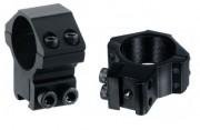 Кольца для оптики Leapers 30 мм, средние, ластохвост (RGPM-30M4)