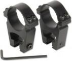 Кольца для прицела 25,4 мм (средние), ластохвост (HQ-301)