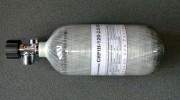 Баллон ВД ALSAFE для PCP пневматики, 2.5 л (вентиль с манометром)
