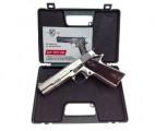 Пистолет охолощенный CLT 1911 CO, кал.10х24, хромированный