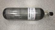 Баллон ВД ALSAFE для PCP пневматики, 6.8л (вентиль с манометром FX)