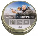 "Пули пневматические Borner ""Hollow Point"", кал 5.5 (250 шт) 1.04 г"