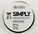 Пули пневм. JSB Simply 4.5 мм, 0.52г (500шт)