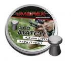 Пуля пневм. Umarex Match 0.48 г, 4.5 мм (500 шт)