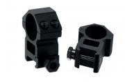 Кольца для оптики Leapers 25.4 мм, высокие, Weaver (RGWM-25H4)