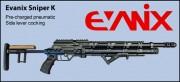 Пневматическая винтовка EVANIX SNIPER-K
