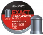 Пули JSB Exact Jumbo Monster 1.645г, кал. 5.5 мм (5.52 мм) (200шт)