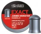Пули JSB Exact Jumbo Monster 1.645г, кал. 5.5 мм (5.52 мм) (200шт)