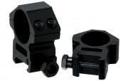 Кольца для оптики Leapers 25.4 мм, средние, Weaver (RGWM-25M4)