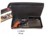 ММГ макет Револьвер Кольт 45 калибра 1873 года армейский, DENIX DE-1-1186-N (с патронами)