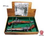 ММГ макет Пистоли дуэльные 18 века, DENIX DE-1102-2-G