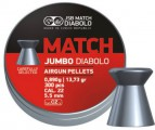 Пули JSB EXACT JUMBO MATCH 5.5 мм, 0.89г (300шт)