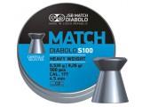 Пули пневм. JSB Blue Match S 100 4.5 мм, 0.535г (500шт)