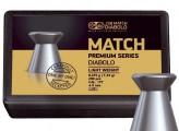 Пули пневм. JSB Match Premium Light  4.5 мм, 0.475г (200шт)