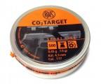 Пули пневм. RWS CO2 Target 4.5 мм, 0.45г (500шт)
